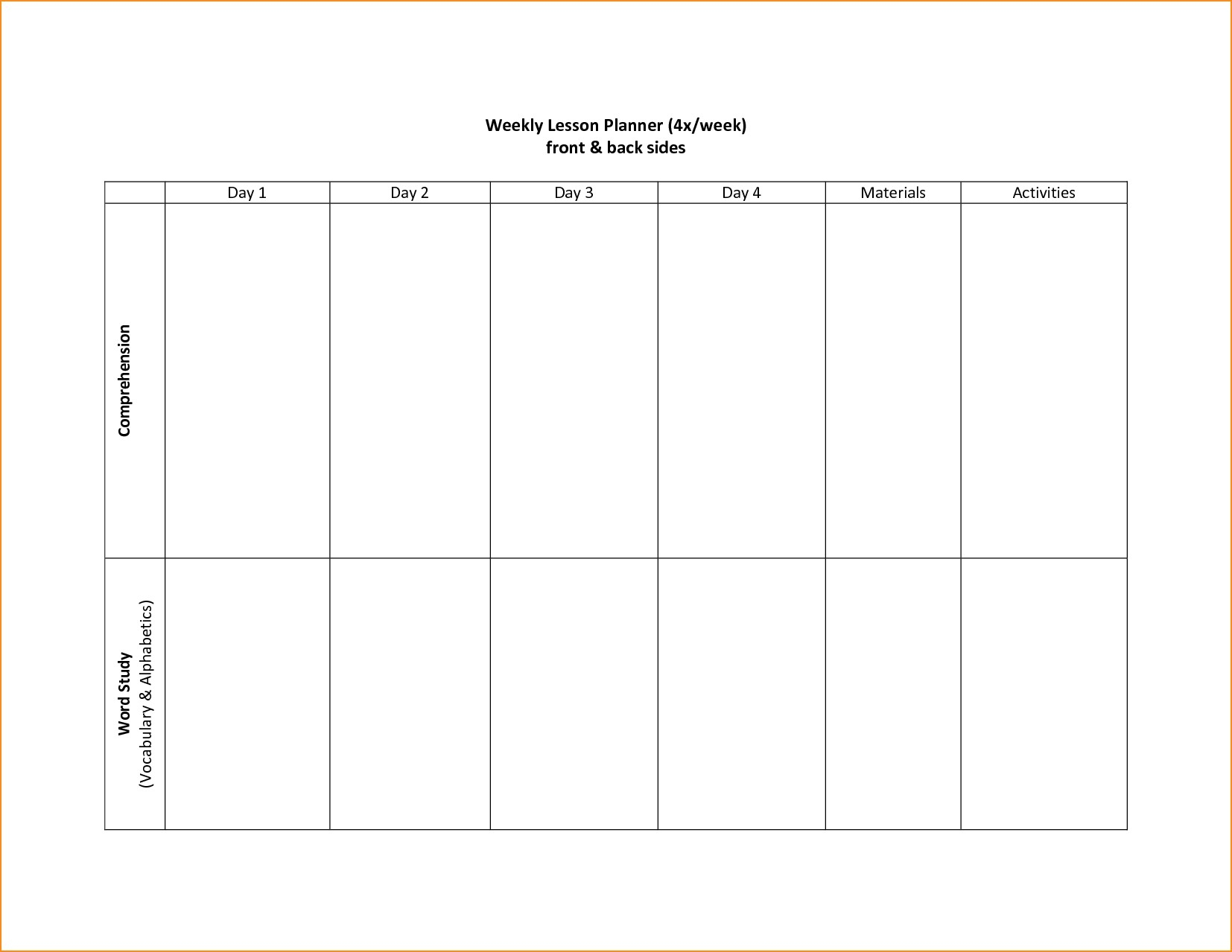 005 Template Ideas 20Schedule Two Wplanning Pdf Calendar