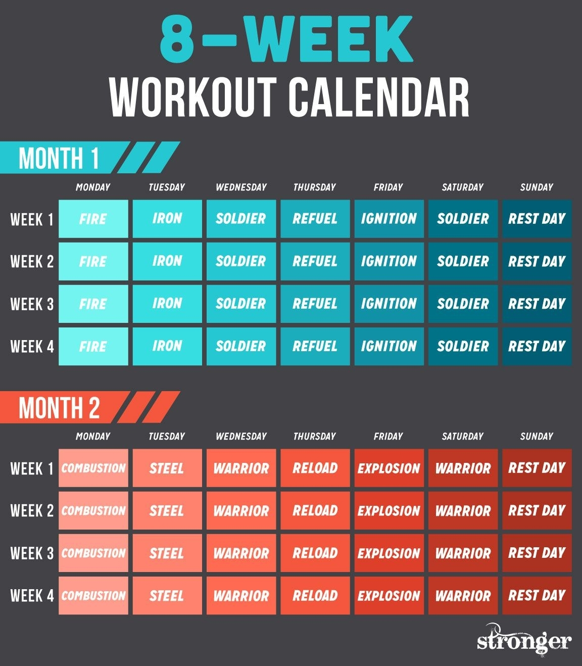10 Free Workouts To Get You Fitter And Stronger | Workout