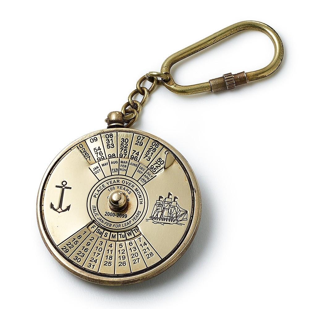 100 Year Calendar Keyring
