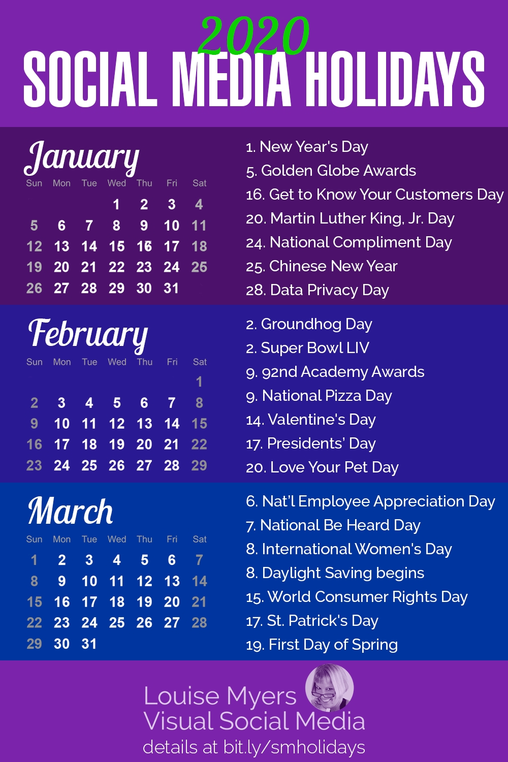 101 Social Media Holidays You Need 2019–20: Indispensable!