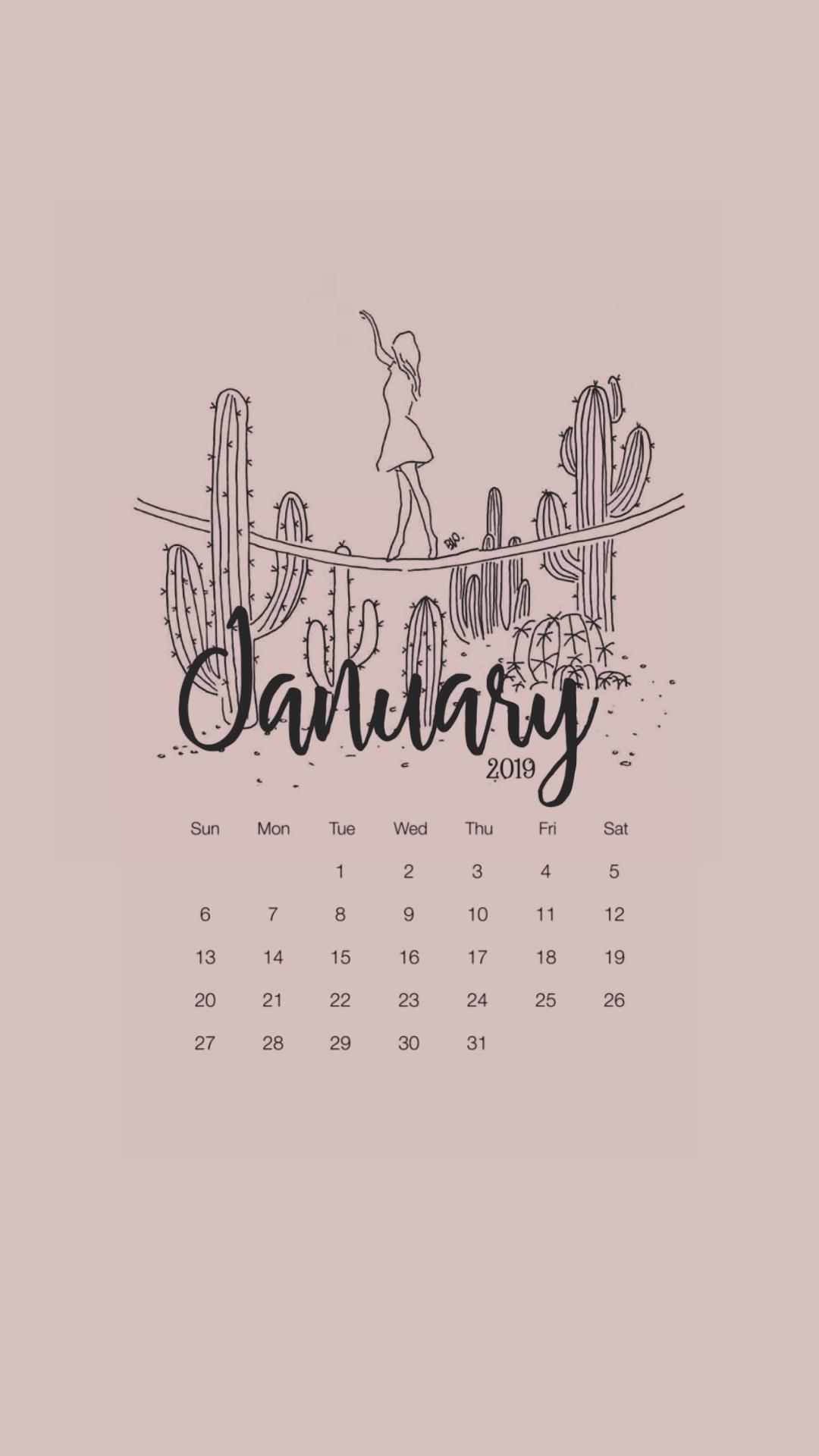 2019 Calendar Printable | Tumblr