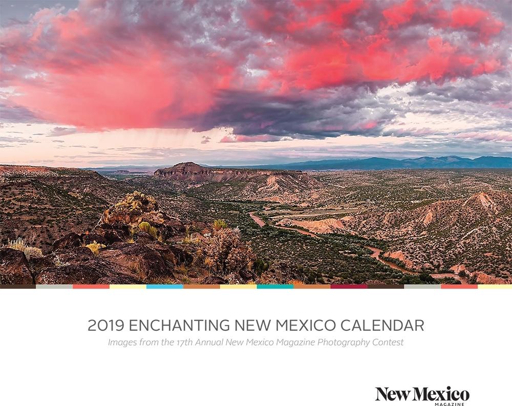 2019 Enchanting New Mexico Calendar | University Of New