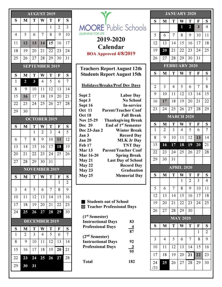 2020 17 School Calendar Template - Cerno.mioduchowski