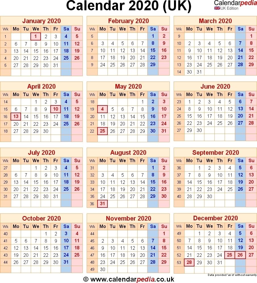 2020 Calendar Excel – Google Search 2020 Calendar Uk With