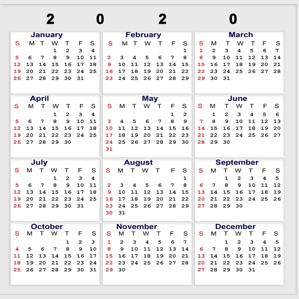 2020 Calendar Week Numbers | Month Yearly Calendar