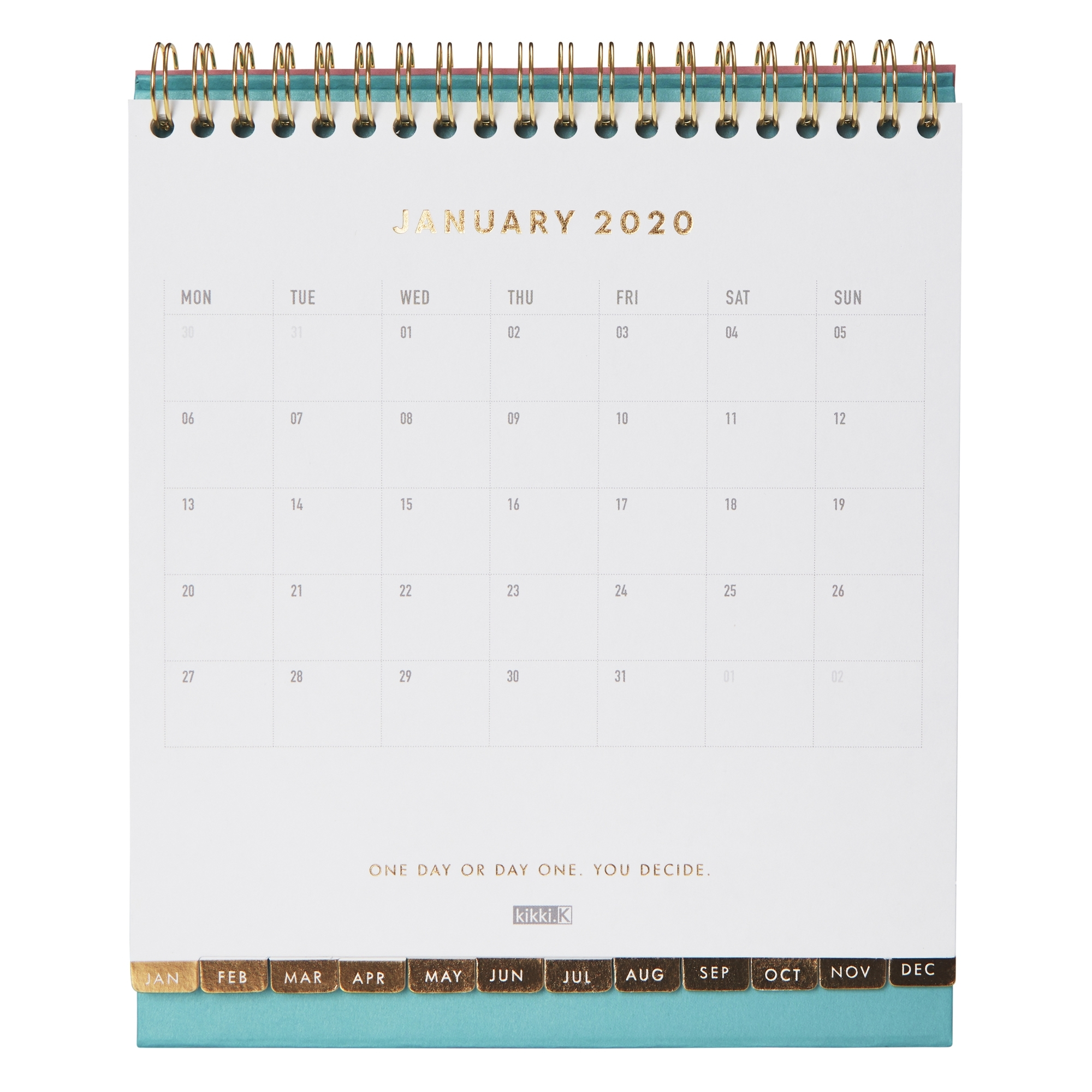 2020 Desk Calendar: Inspiration | Calendars | Kikki.k Us