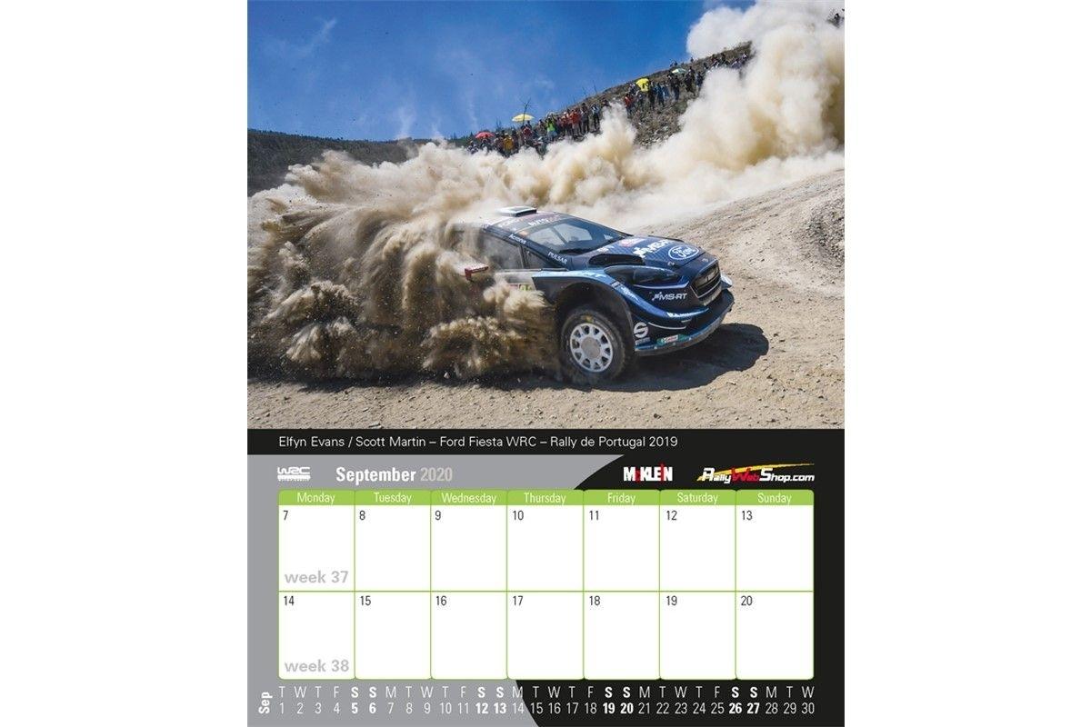 2020 Desktop Rally Calendar History Meets The Present
