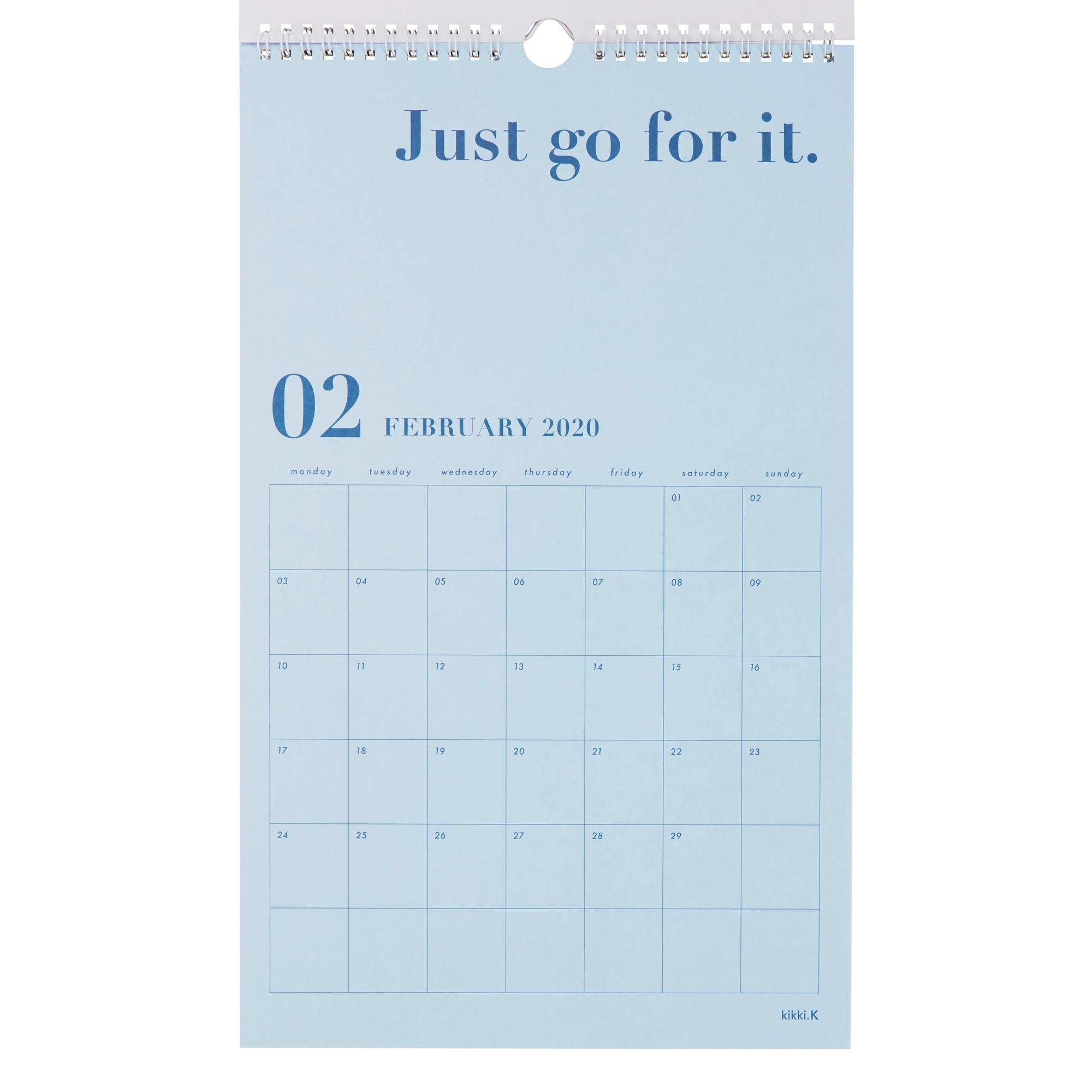 2020 Dream Life Wall Calendar White: Inspiration | Calendars