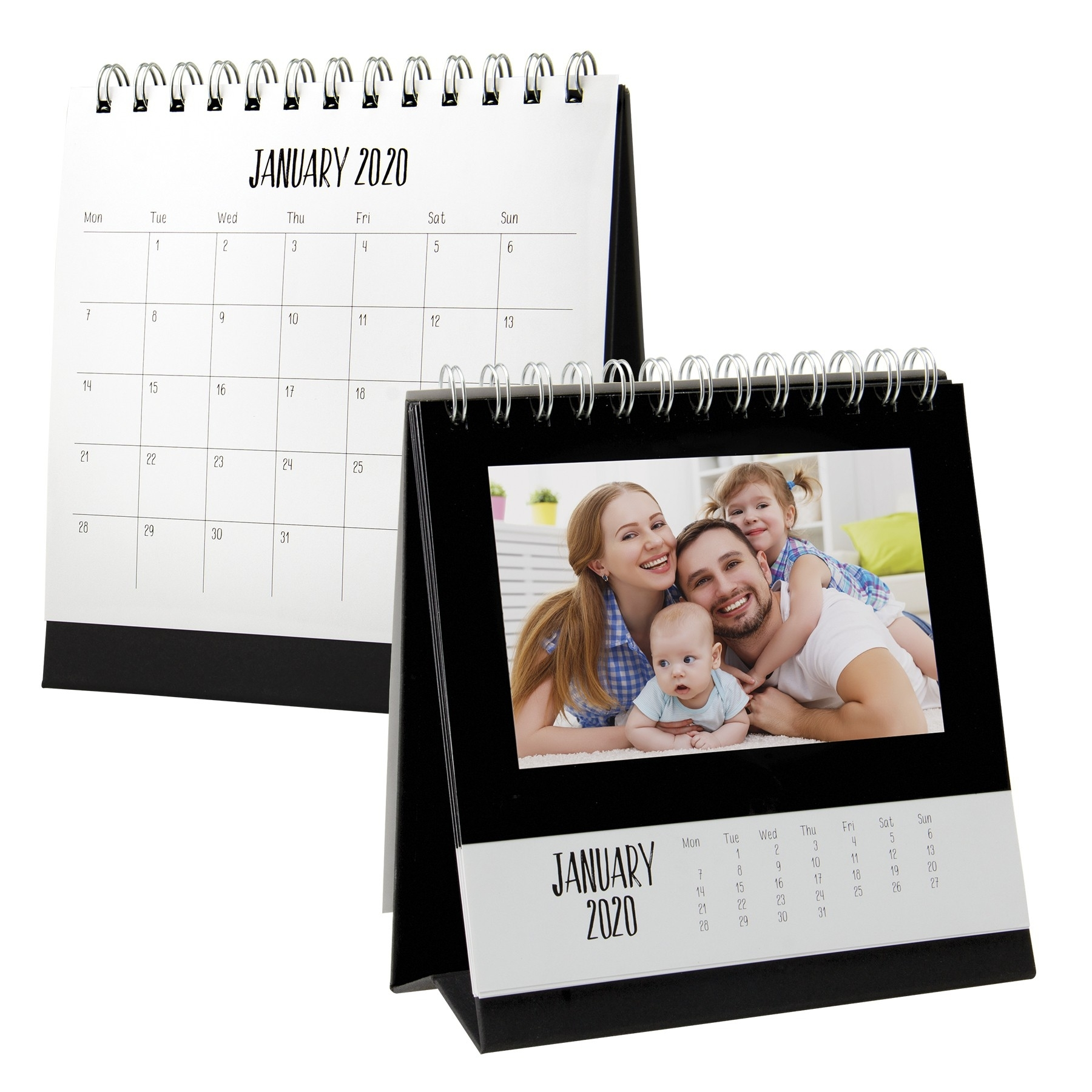 2020 Monthly Desk Calendar