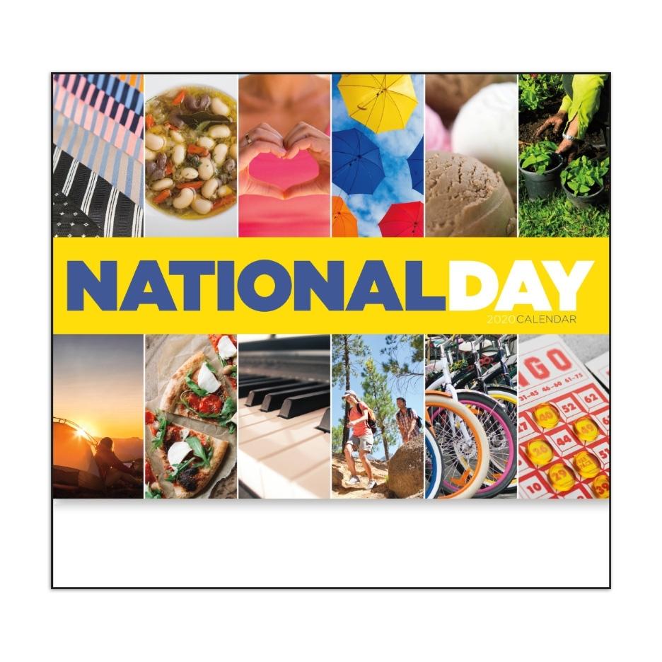 "2020 National Day Calendar | 11"" X 19"" Imprinted National"