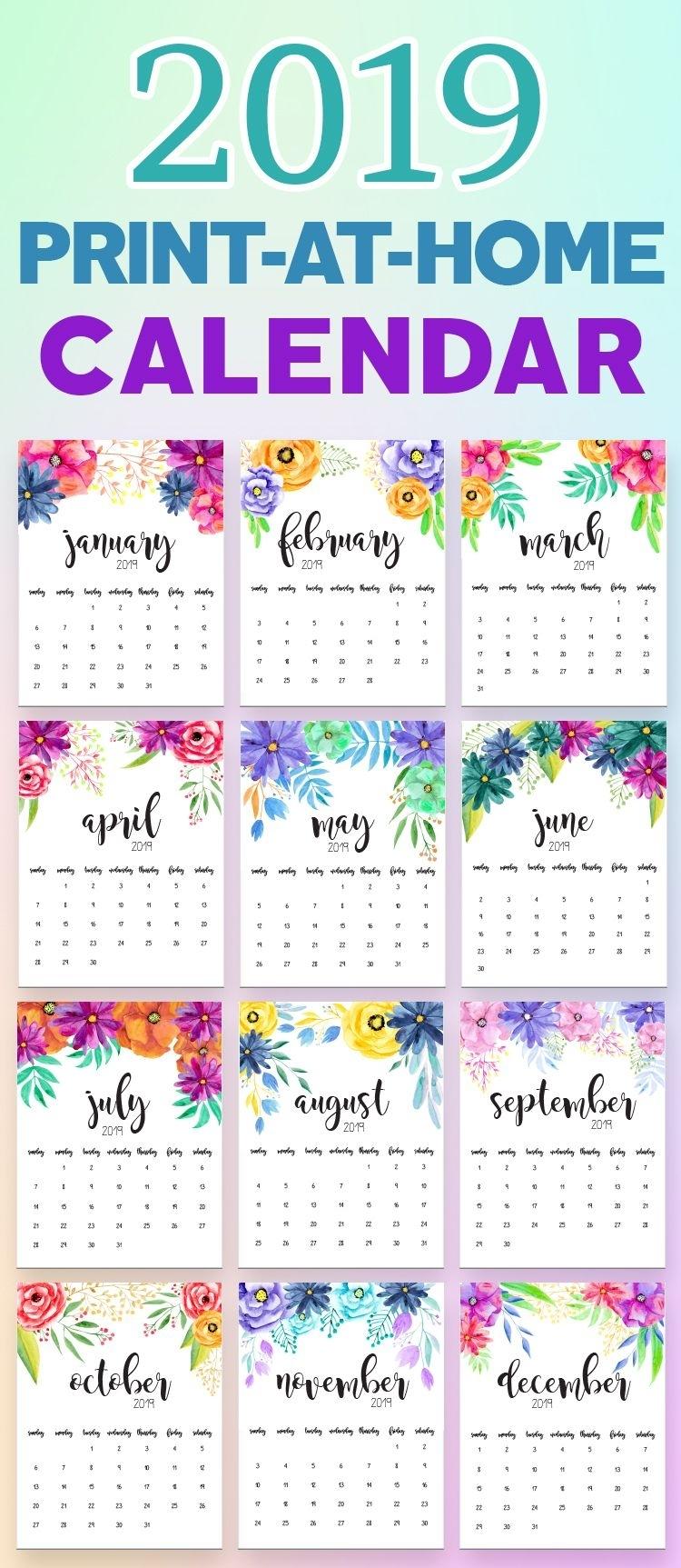 2020 Printable Calendars And Planners | Calendar
