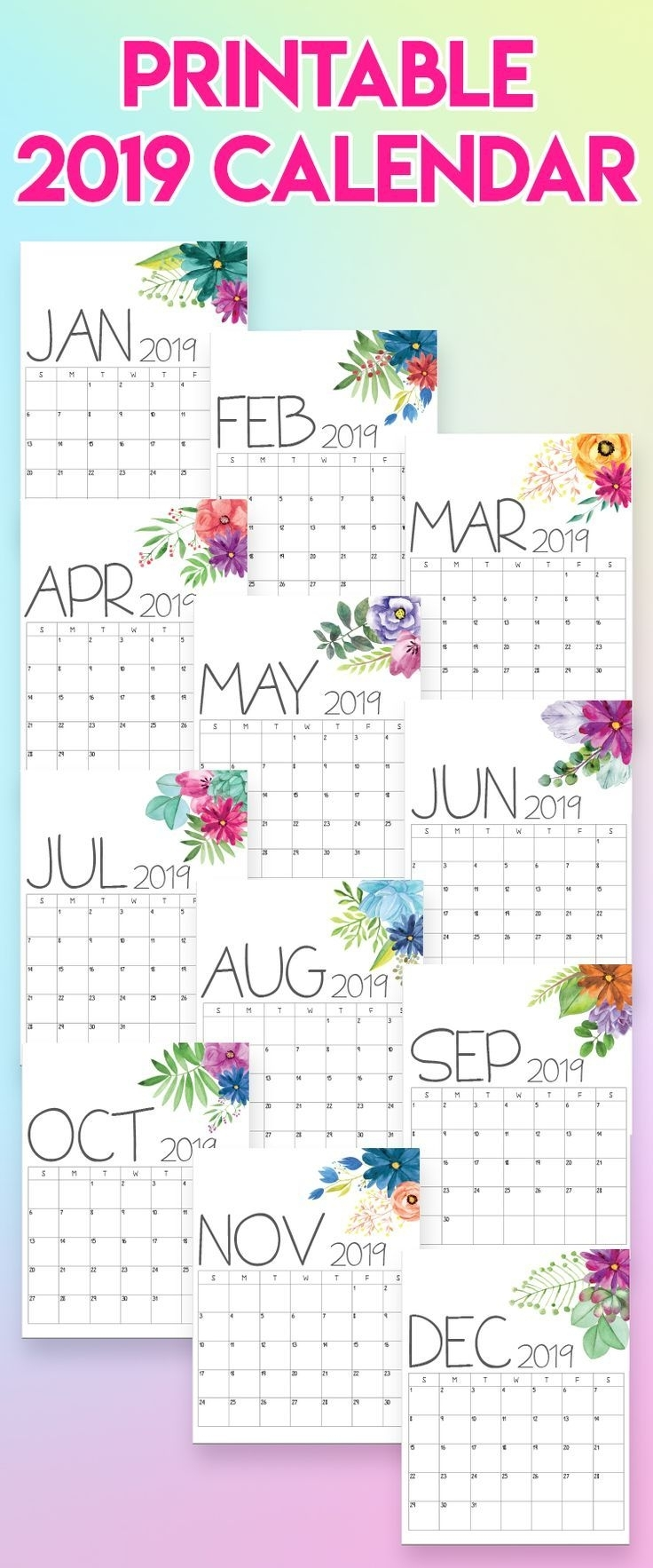 2020 Printable Calendars And Planners | Free Printable
