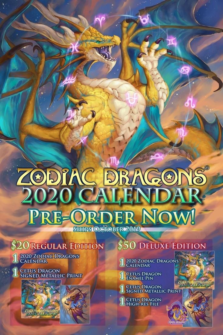 2020 Zodiac Dragons Pre-Order Nowsixthleafclover -- Fur