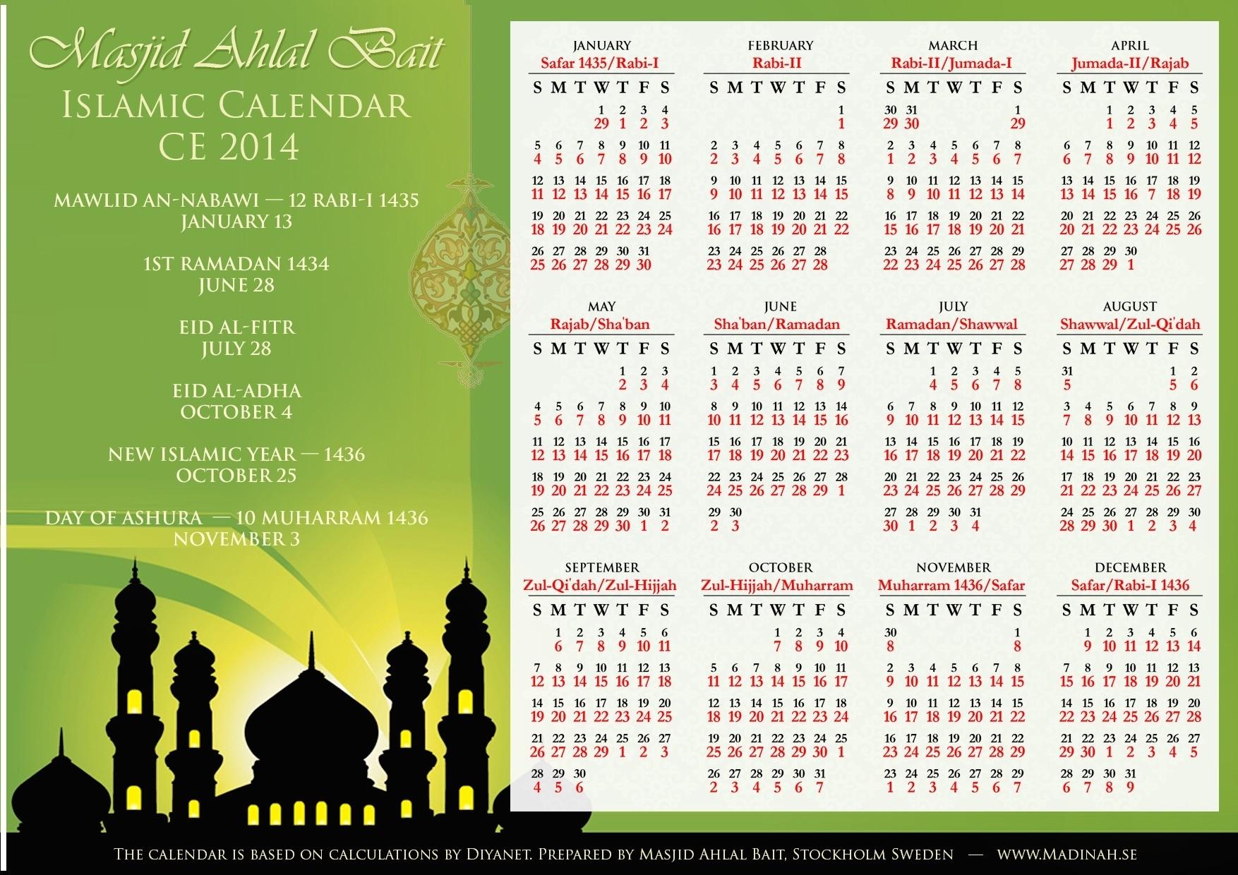 3 Blessed Days In Islamic Calendar - Quran O Sunnat