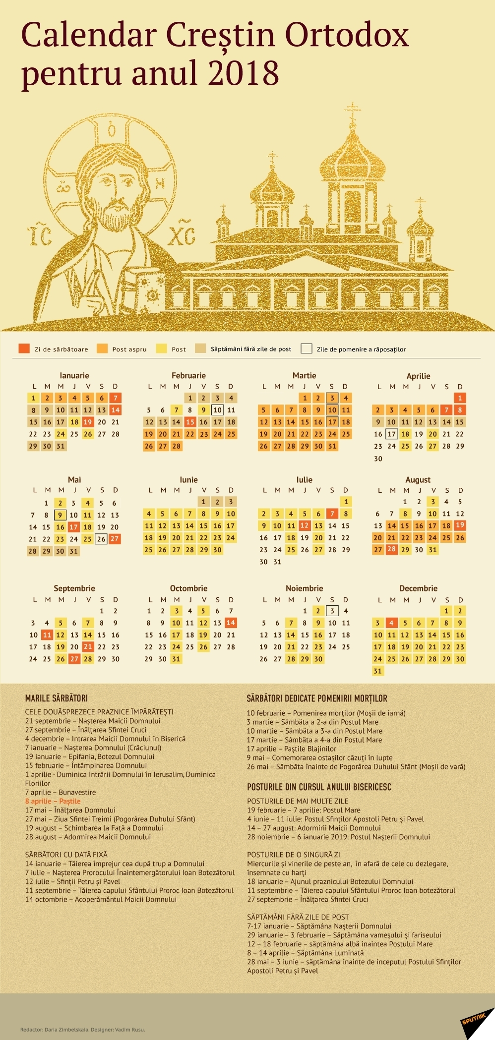 8 Iunie 2019 Calendar Ortodox | Ten Free Printable Calendar