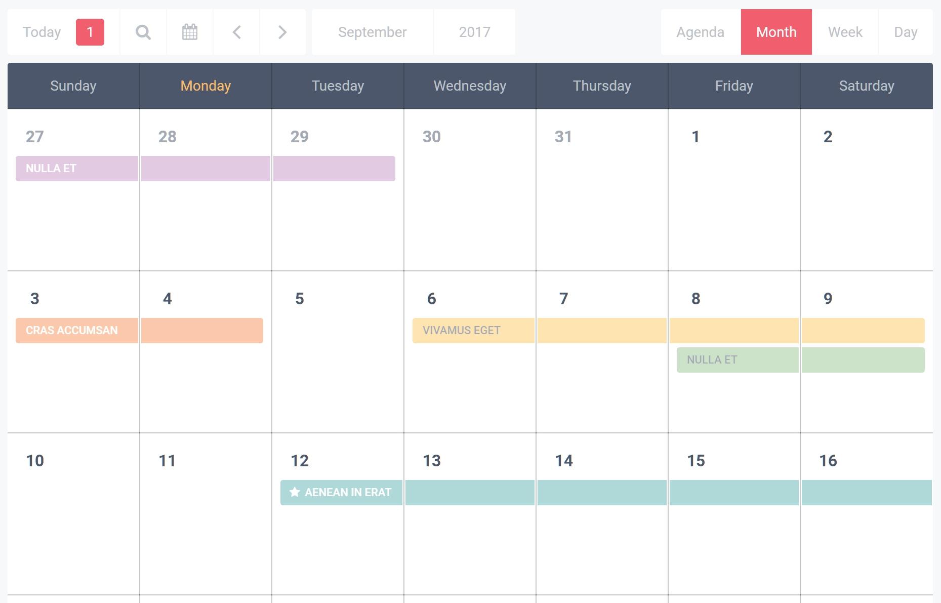 9 Best Event Calendar Plugins For WordPress 2019 - Athemes