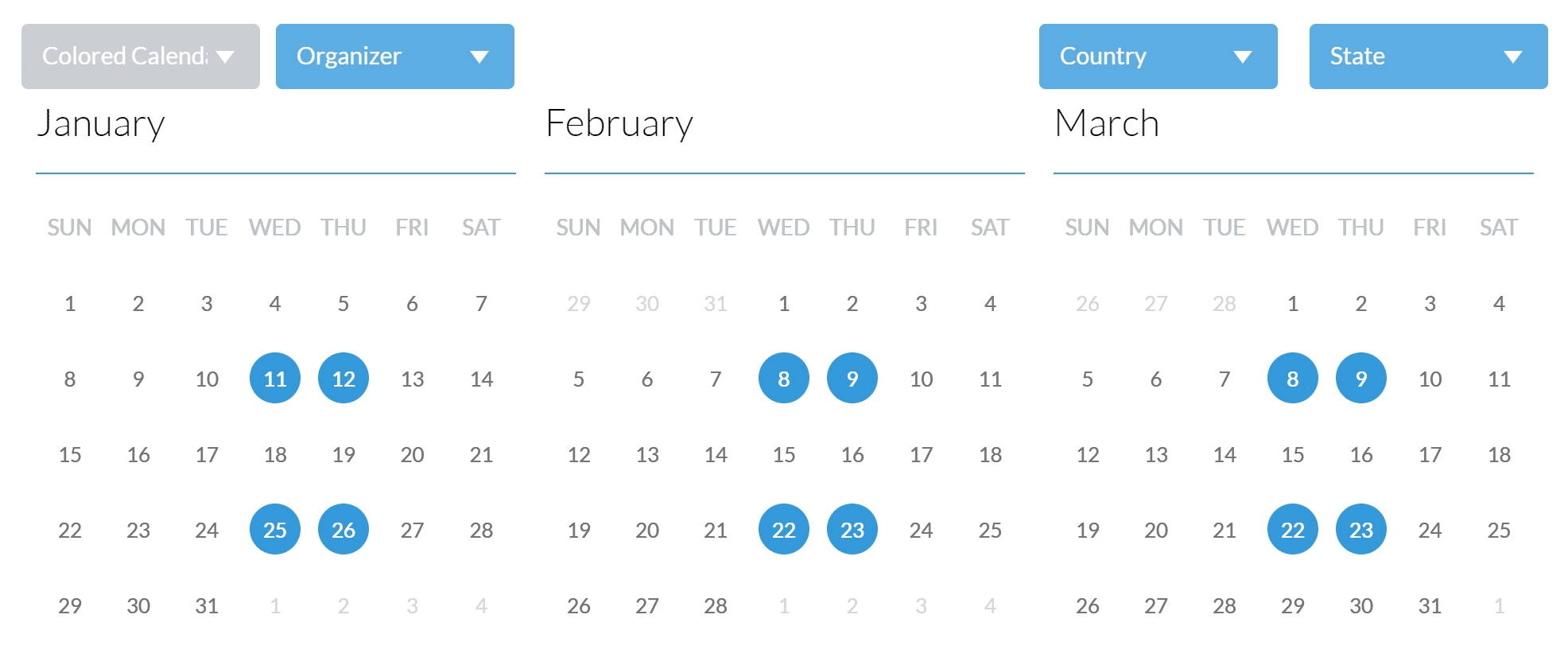 9 Best Event Calendar Plugins For Wordpress 2019 - Athemes