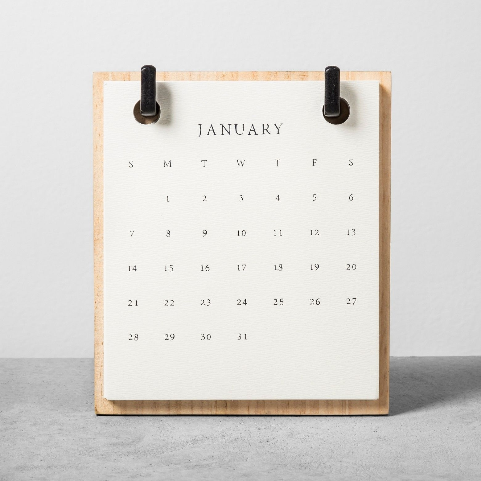 A Modern Alternative To Traditional Wall Calendars, The 2018