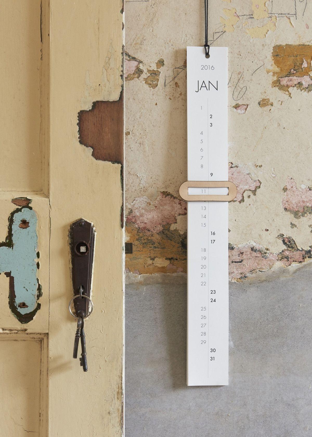 A Year Long Calendar - One Must Dash | Object | Minimal