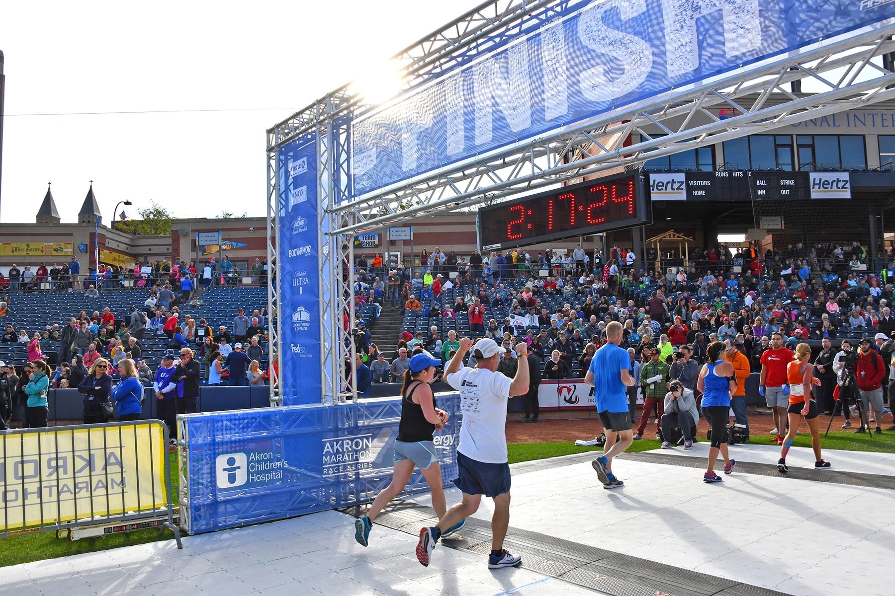 Akron Marathon Series Runs Up $40 Million Economic Impact