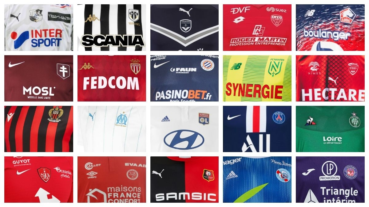 All 19-20 Ligue 1 Kits - Overview | 58 Home, Away & Third