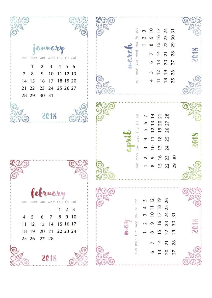 Already? Yep. Some 2018 Calendars. | Fun Printables