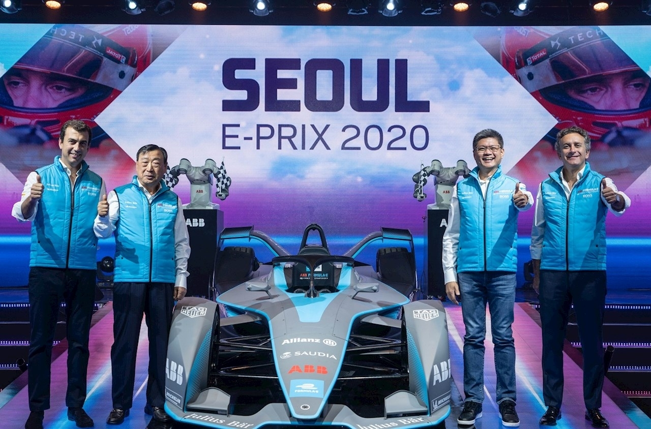 Announcing The Abb Fia Formula E Seoul E-Prix In 2020