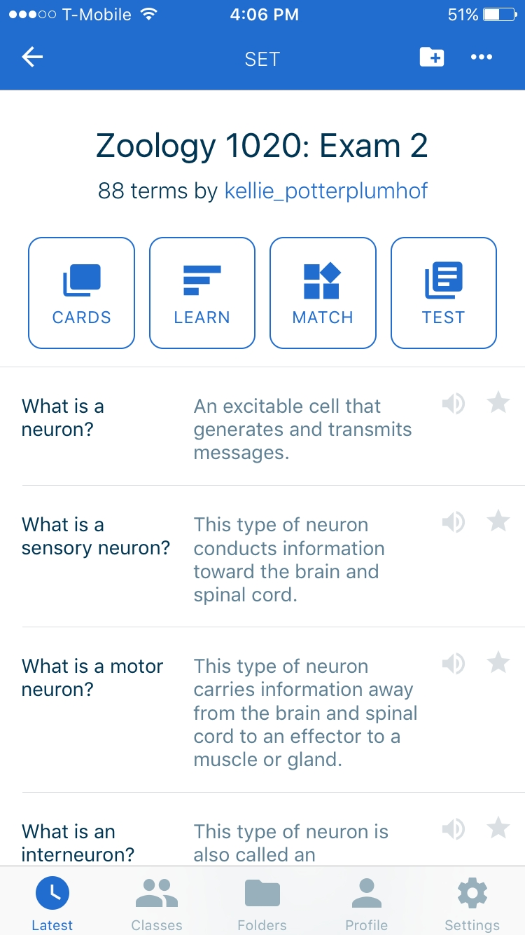 App Of The Week: Quizlet | Signpost