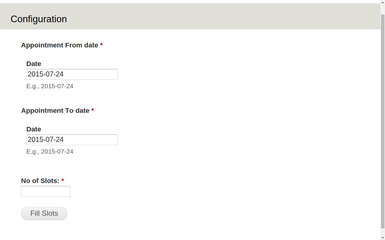Appointment Calendar   Drupal
