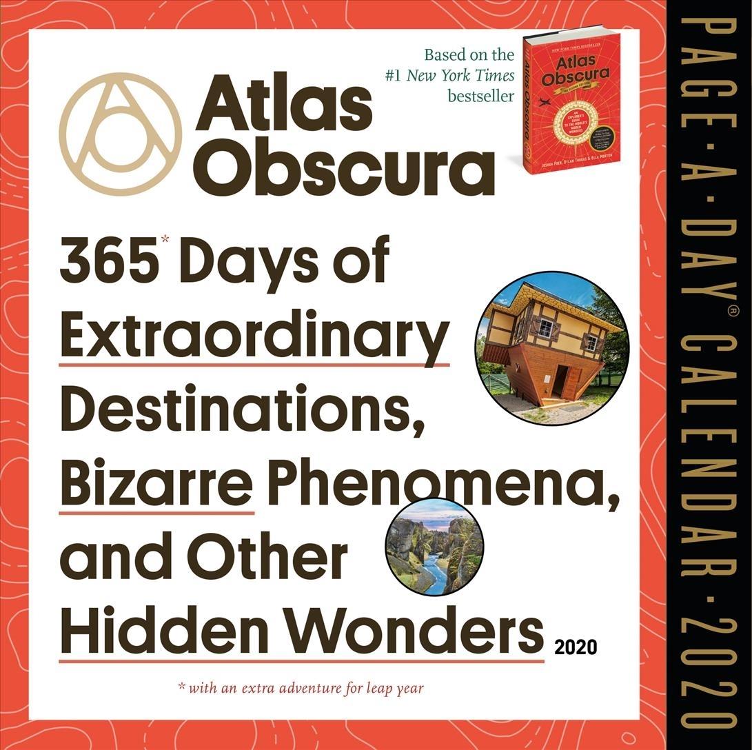Atlas Obscura Page-A-Day Calendar 2020Atlas Obscura (Calendar)