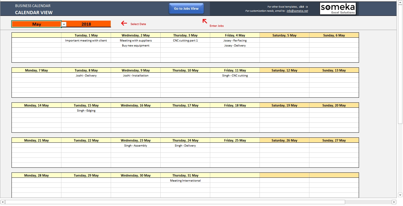 Automatic Schedule Planner