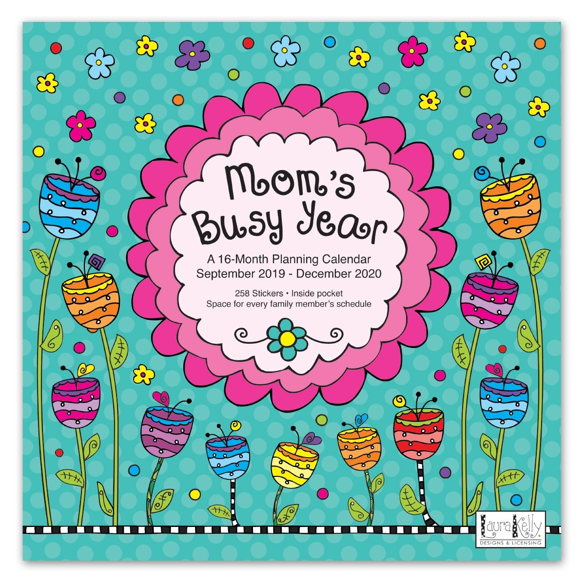 Avalon 12″ X 12″ 2020 Wall Calendar – Mom's Busy Year