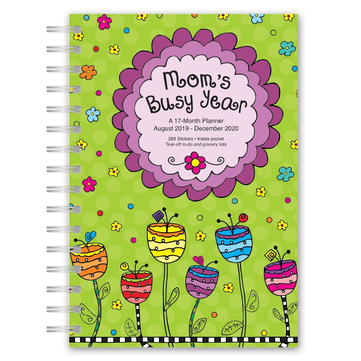 Avalon Mom's Busy Year 17-Month Weekly/monthly Planner