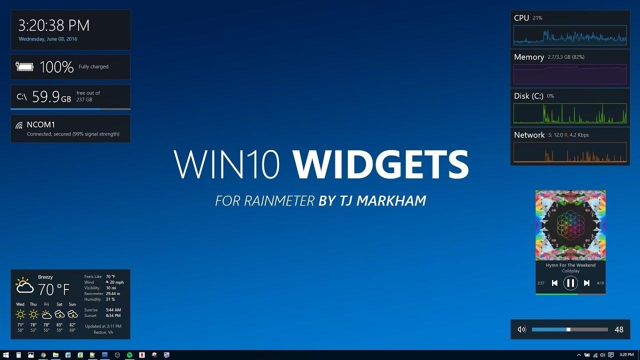 Best Desktop Gadgets To Download On Windows 10