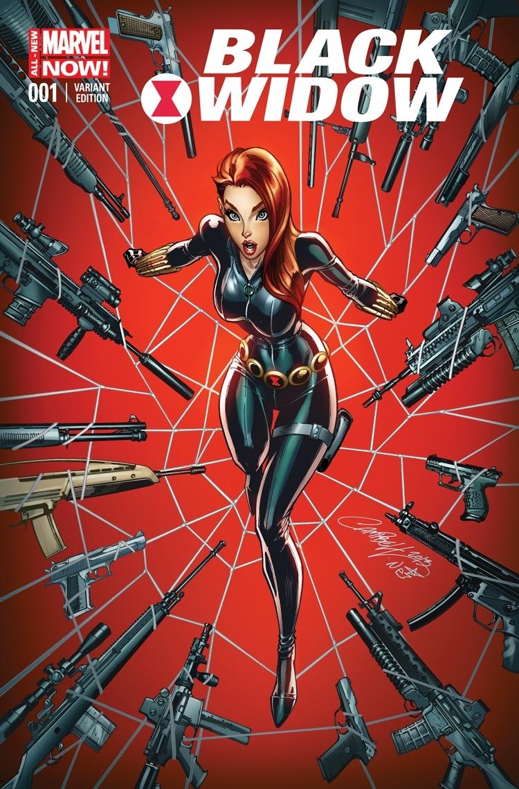 Black Widow (2014) #1 (Campbell Variant) | Marvel