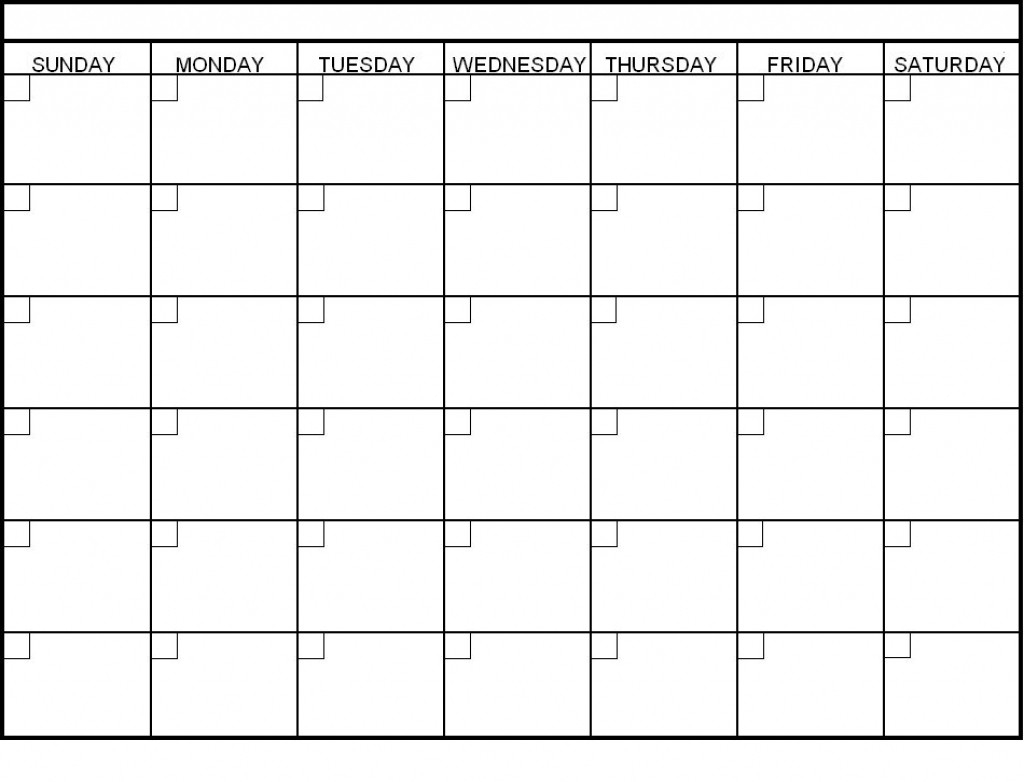 Blank 6 Week Calendar Oklmindsproutco Pictures Within 6 Week
