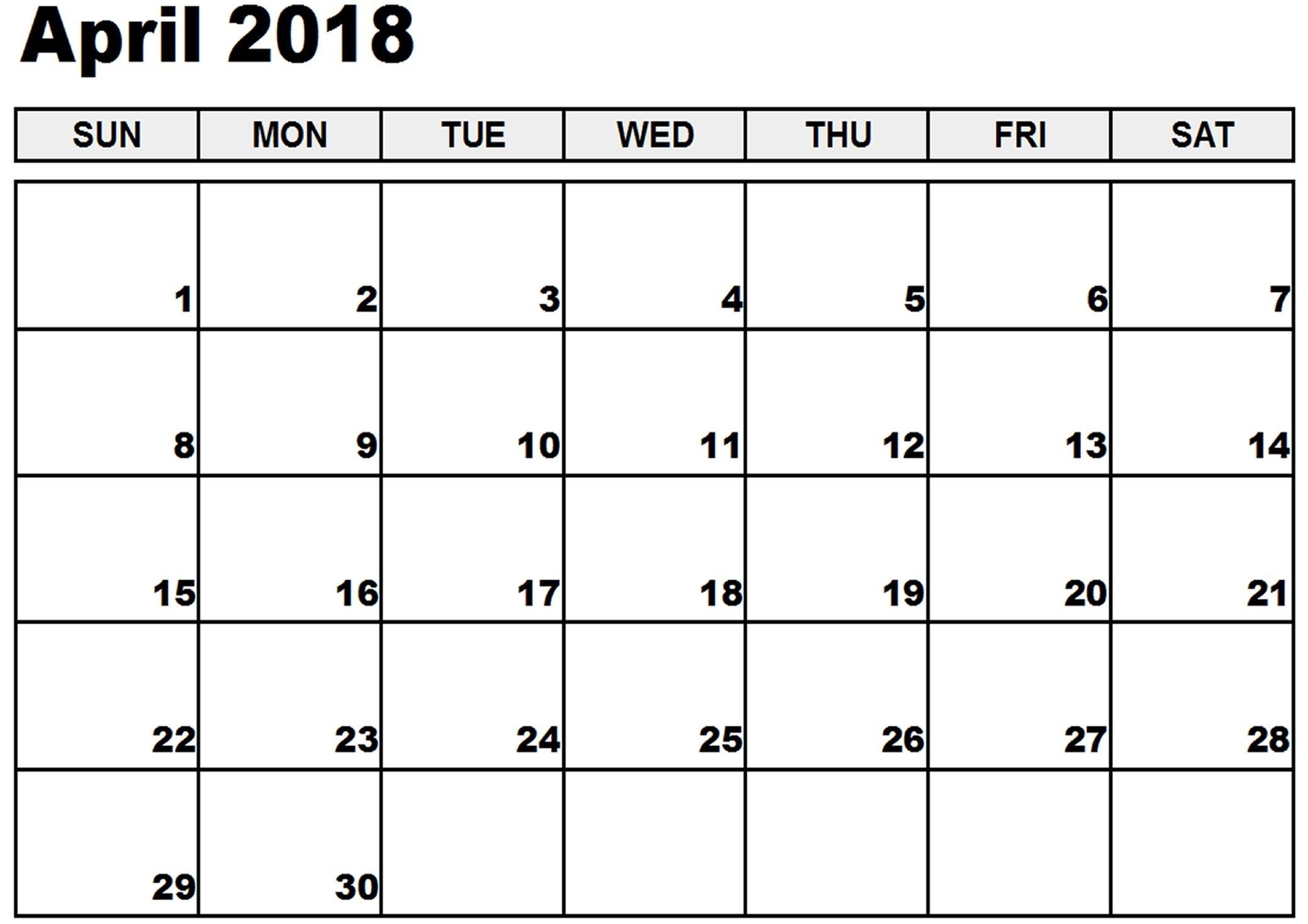 Blank Month Calendar No Weekend | Example Calendar Printable