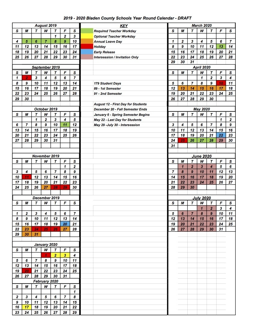 Board Of Education Studying Modified Year-Round Calendar
