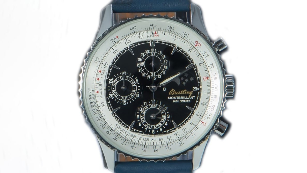 Breitling Montbrillant Series 1461 Jours 4-Year Calendar Chronograph