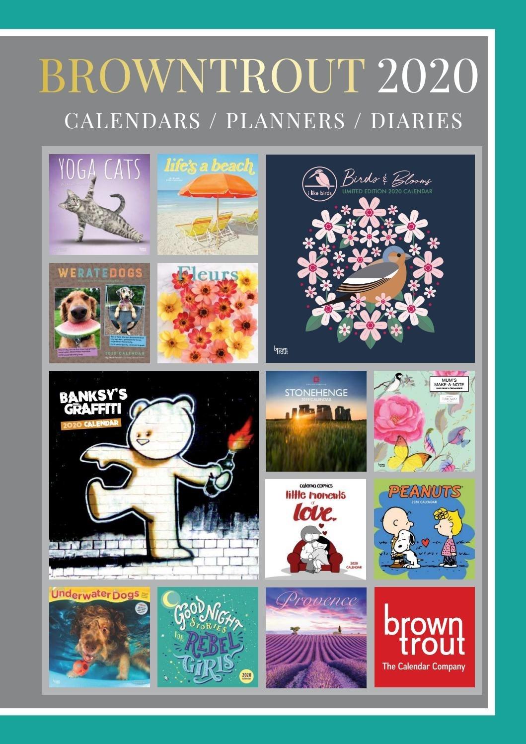 Browntrout Publishers Ltd Uk 2020 Calendar Catalogue