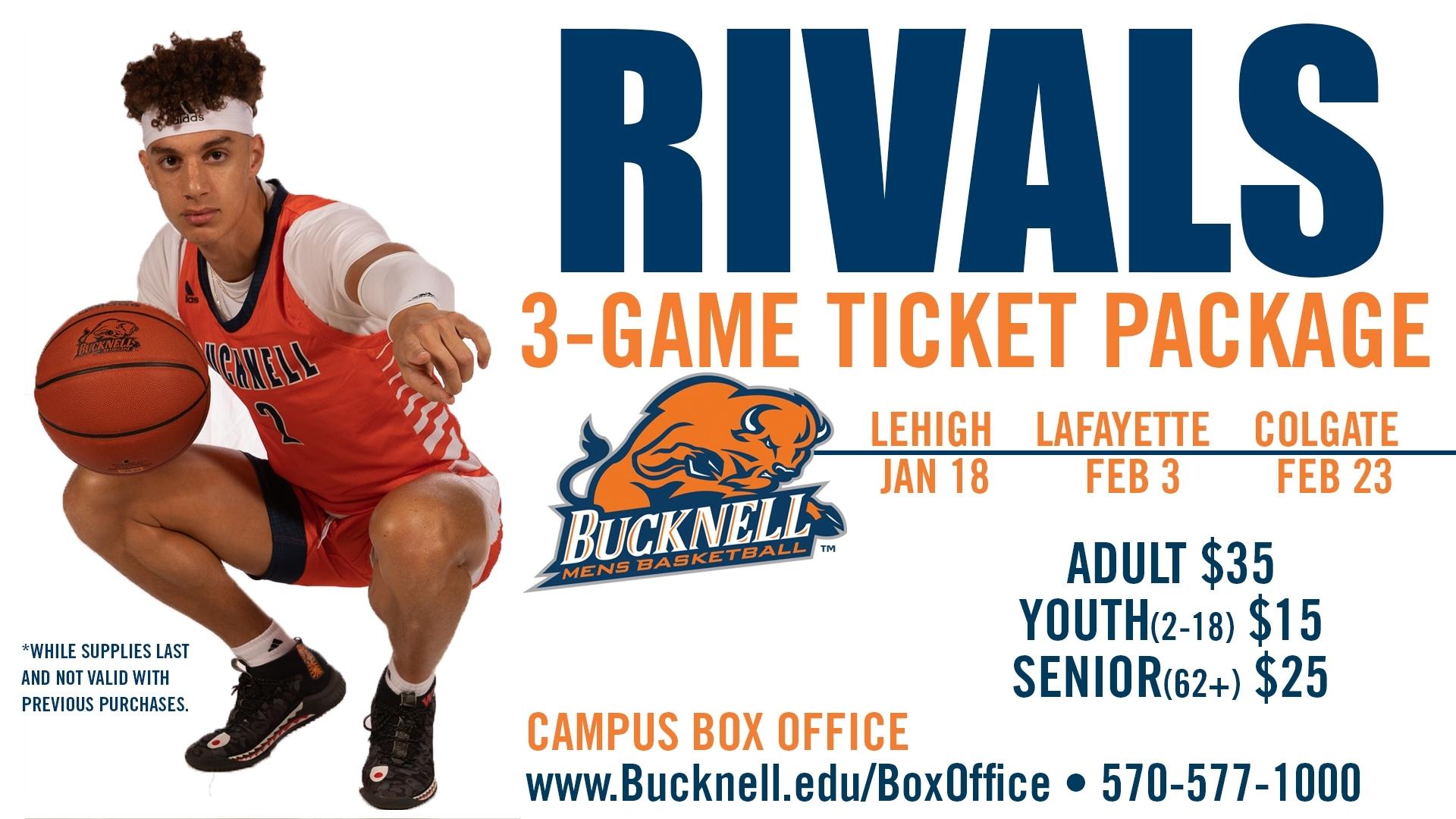 Bucknell University - Ticket Sales - Men's Basketball Rivals