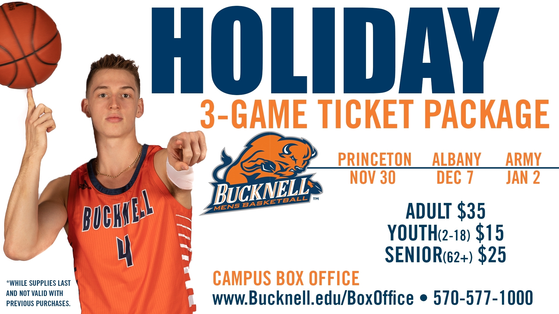 Bucknell University - Ticket Sales - Men's Basketball