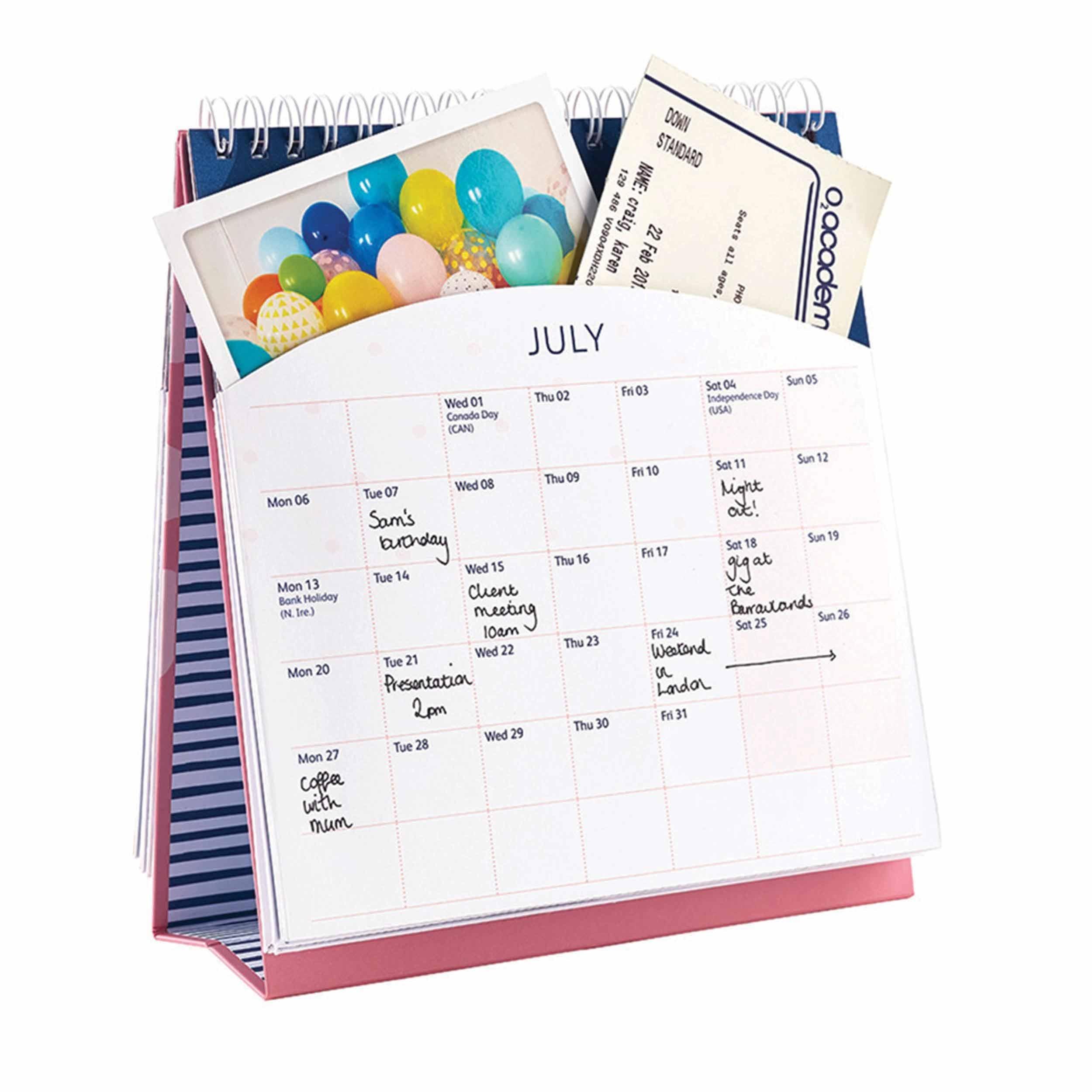 Busy B, Easel Calendar 2020