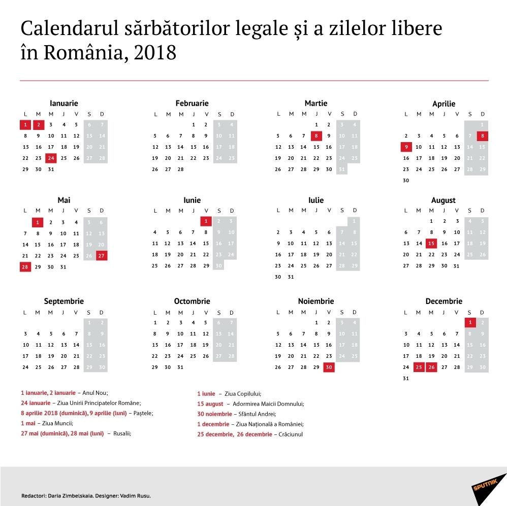 Calendar 2020 Cu Zile Libere – Get Your Calendar Printable