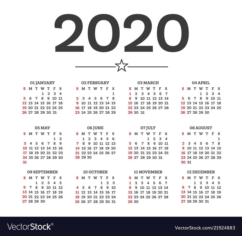 Calendar Week 31 2020