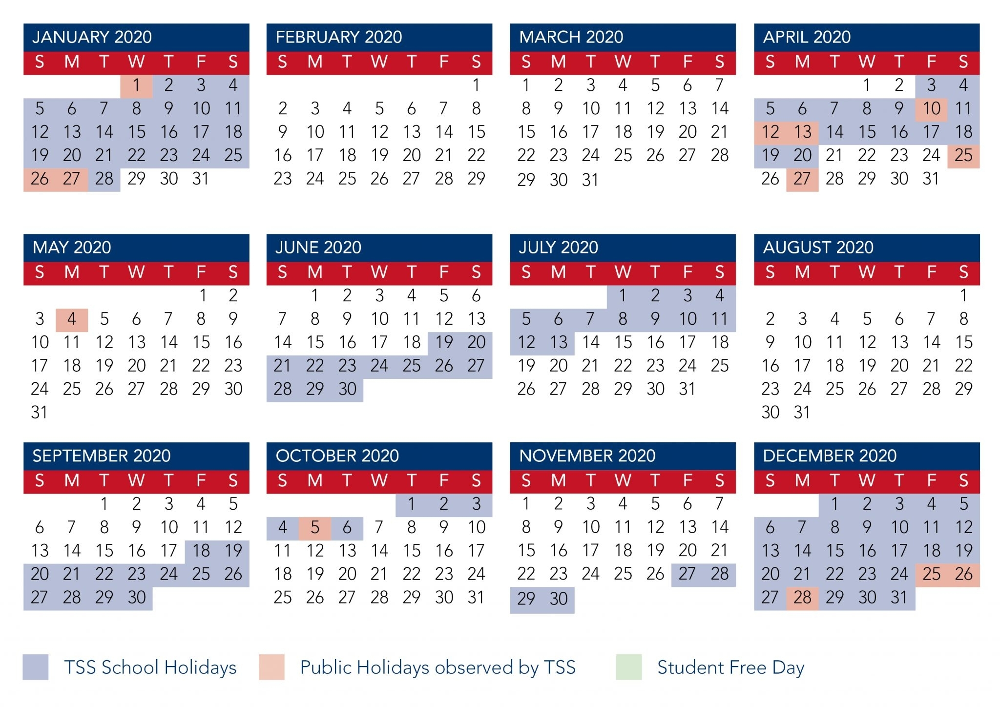Calendar 2020 Printable With Holidays Nz - Https