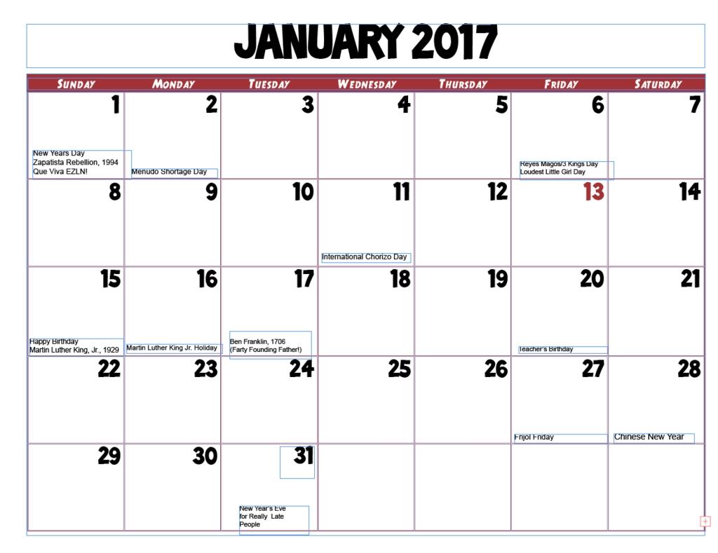 Calendar Basics Diagram | Quizlet
