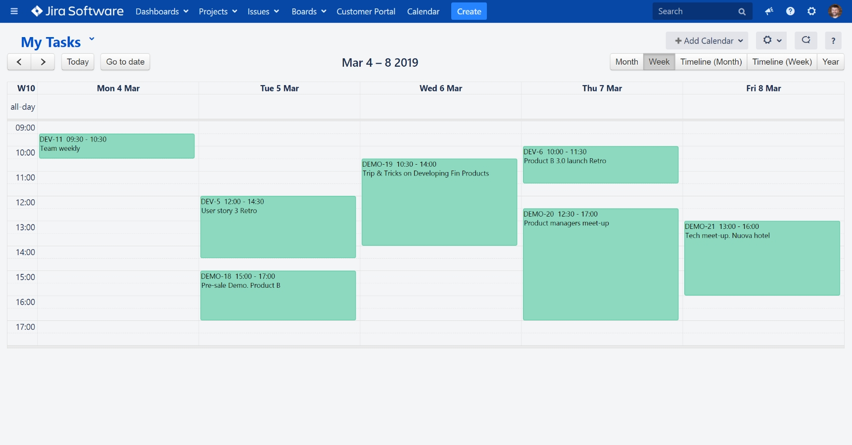 Calendar For Jira - Plan Team Activities | Atlassian Marketplace