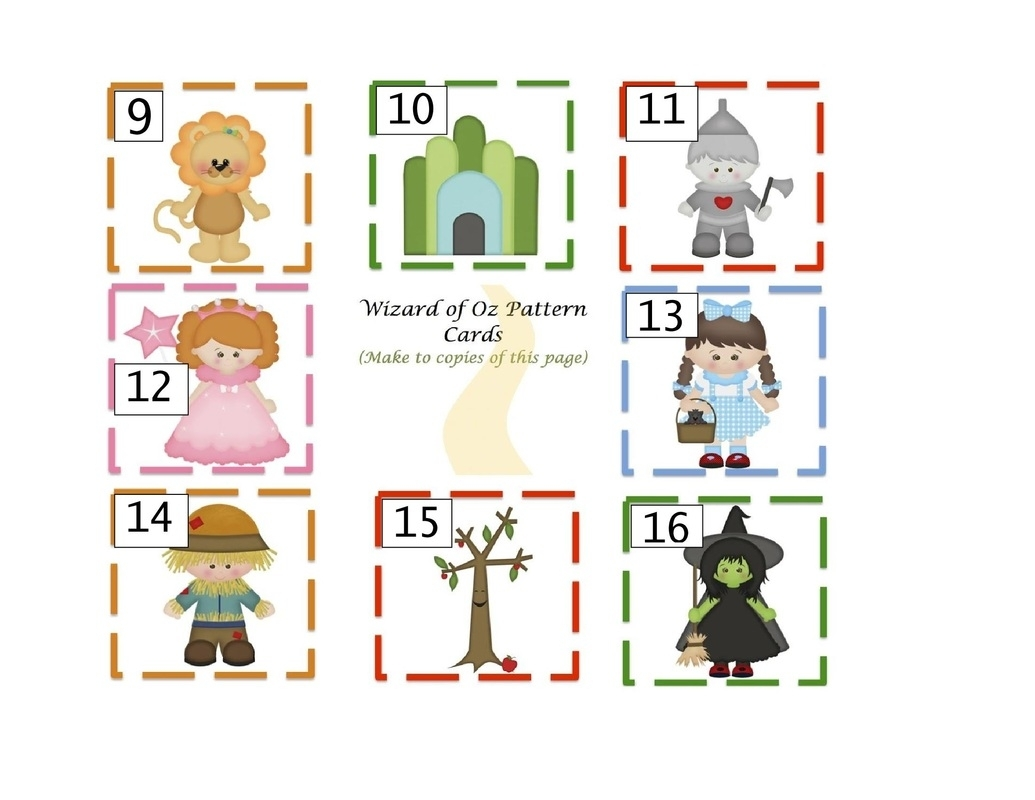 Calendar Pieces-Printables