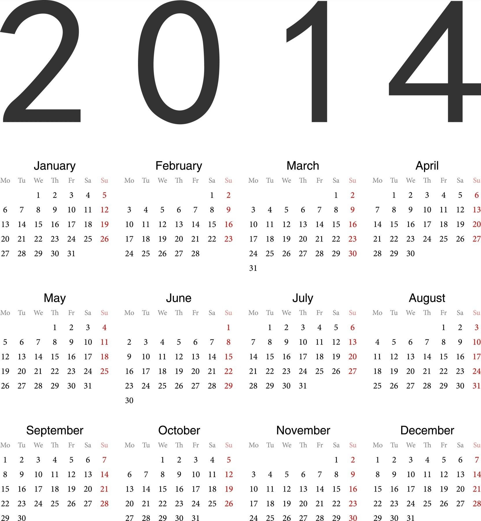 Calendar Print Ready Free Printable Calendars And Planners